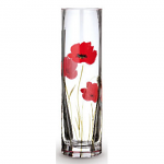 Nobile Glass Poppy Fields Bud Vase 19.5cm 2023-19