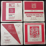 Northampton Town Football Club Vintage Coasters