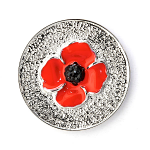 Poppy Brooch - Poppy Pin 25mm