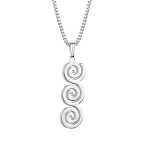 Newbridge Tara Triple Swirl Pendant