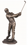 Genesis Fine Arts - The Chip Shot - Golf Golfer