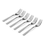 Newbridge Nova Pastry Fork Set of 6