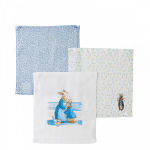 Peter Rabbit Baby Collection Face Cloth - Set of 3