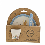 Beatrix Potter - Peter Rabbit Bamboo Egg Cup Dinner Set