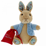 Peter Rabbit Christmas Soft Toy by Gund - Small