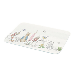 Peter Rabbit Classic Glass Chopping Board Worktop Protector Small 30cm x 22cm