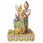 Peter Rabbit Figurine - Then He Ate Some Radishes