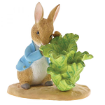 Beatrix Potter - Peter Rabbit with Lettuce