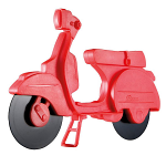 Eddingtons Pizza Scooter Cutter Red