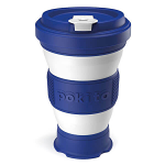Pokito Pop Up Cup Travel Mug - Blueberry