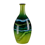 Poole Pottery Maya Tall Bottle Vase 26cm