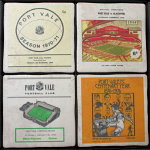 Port Vale Football Club Vintage Coasters