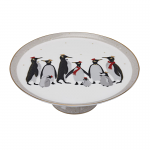 Portmeirion Sara Miller Penguin Footed Cake Plate 27cm