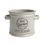 T&G Pride of Place Plant Pot in Cool Grey