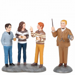 Professor Slughorn and his Students Figurine