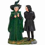 Professor Snape and Professor Minerva McGonagal Figurines