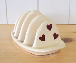 Peregrine Pottery - Queen of Hearts Toast Rack
