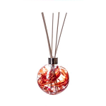 Amelia Reed Diffuser Glass Sphere Red (with Reeds)