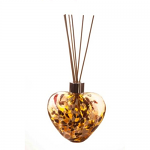 Amelia Friendship Heart Reed Diffuser in Gold (with Reeds)