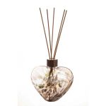 Amelia Friendship Heart Reed Diffuser in Grey (with Reeds)