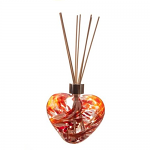 Amelia Friendship Heart Reed Diffuser in Red & White (with Reeds)