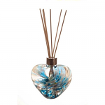 Amelia Friendship Heart Reed Diffuser in Turquoise & White (with Reeds)