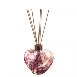 Amelia Friendship Heart Reed Diffuser in Violet & Purple (with Reeds)