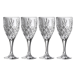 Galway Crystal Renmore Goblet - Set of 4