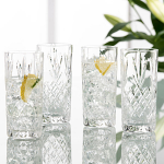 Galway Crystal Renmore Hiball Glasses - Set of 4