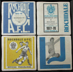 Rochdale Association Football Club Vintage Coasters