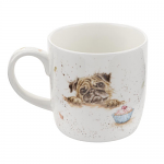 Royal Worcester Wrendale Designs - Mug - Pug Love