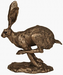 Frith Sculpture - Hurricane - Running Hare