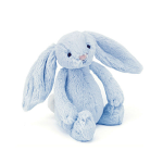 Jellycat Bashful Blue Bunny Rattle Small 18cm