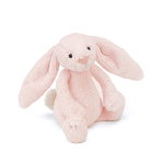 Jellycat Bashful Pink Bunny Rattle Small 18cm
