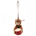 Steiff Jocko Monkey Ornament Mohair 8cm Limited Edition