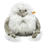 Steiff Nrommi Yeti White Grey Tipped 25cm Large Size
