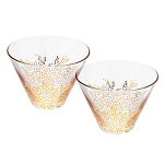 Sara Miller Chelsea Collection - Glass Bowls Set of 2