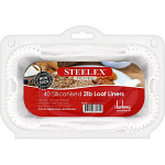 Steelex 2Lb Loaf Liners Pack of 40