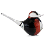 Svaja Paperweight Basil Bird Black & Red