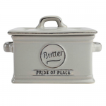 T&G Pride of Place Butter Dish in Cool Grey