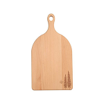 T&G Cottage Garden Large Handled Beech Chopping Board