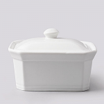W M Bartleet & Sons Terrine or Butter Dish with Lid Medium