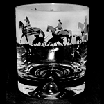 Animo Glass - Hunting Scene Whisky Tumbler