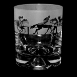 Animo Glass - At the Races Horse Racing Whisky Tumbler