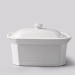 W M Bartleet & Sons Terrine or Butter Dish with Lid Large