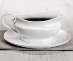 W M Bartleet & Sons Gravy Boat with Saucer 500ml