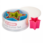 Judge Coloured Star Cutters Set of Five