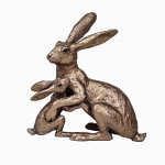 Frith Sculpture - Tulip & Thimble Hare - Welcome Back