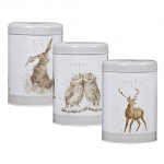 Wrendale Designs - Tea Coffee & Sugar Canisters