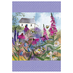 Alex Clark Bee Garden Tea Towel